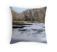 Mill Creek Whitewater Throw Pillow