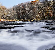 Mill Creek Whitewater by Kenneth Keifer