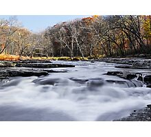 Mill Creek Whitewater Photographic Print