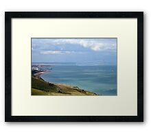 Red Arrows over Eastbourne Framed Print
