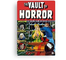 The Vault of Horror Canvas Print