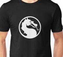 Mortal Kombat - White Logo Unisex T-Shirt