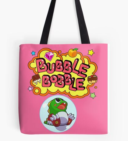 Bubble Bobblin Tote Bag