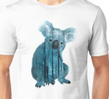 Australian Misty Forest Koala Bear Unisex T-Shirt