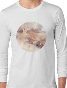Pastel Origami Birds Long Sleeve T-Shirt