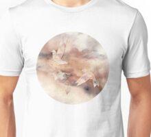 Pastel Origami Birds Unisex T-Shirt