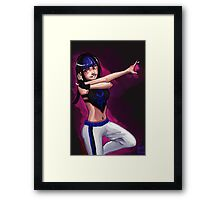 Juri - Street Fighter V Framed Print