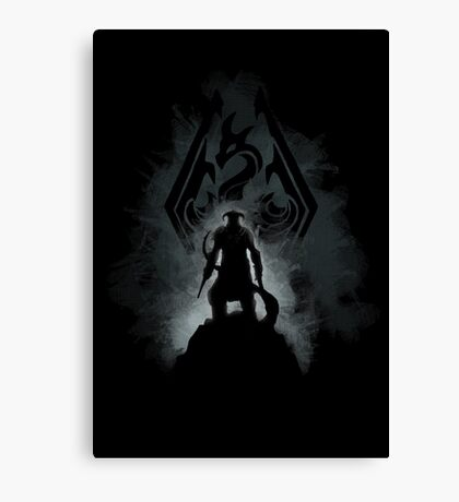 The Dovahkiin (v2) Canvas Print