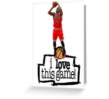 Jimmy Butler Greeting Card