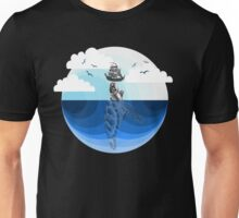 Nature Blues - The Giant Turtle Unisex T-Shirt