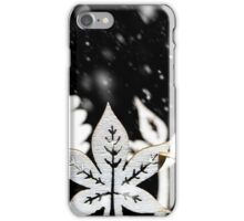 Fantasy winter snow scene  iPhone Case/Skin