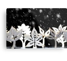 Fantasy winter snow scene  Metal Print