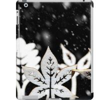 Fantasy winter snow scene  iPad Case/Skin