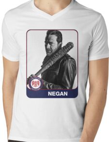 Negan (The Saviors - Washington Nationals) Mens V-Neck T-Shirt