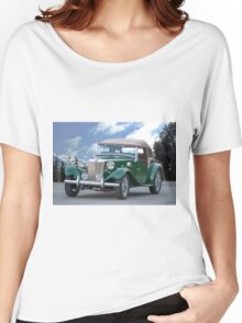 1953 MG TD Roadster Women's Relaxed Fit T-Shirt