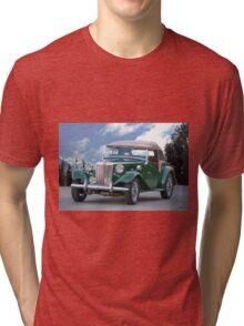 1953 MG TD Roadster Tri-blend T-Shirt