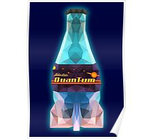 Low Polygon Nuka-Cola Quantum Poster