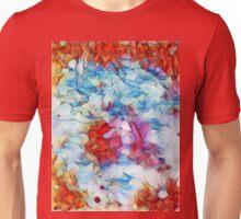 Red Eye Blue Sky / Rotes Auge Blauer Himmel Unisex T-Shirt