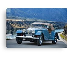 1953 Morgan +4 Roadster Canvas Print