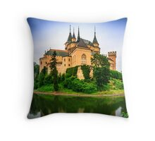 Bojnice Castle Throw Pillow