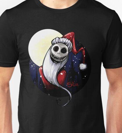 Santa Jack Skellington Unisex T-Shirt