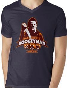 Haddonfield Boogeyman Mens V-Neck T-Shirt