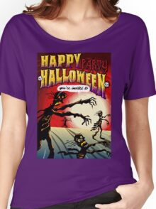 Happy Halloween Skeletons Women's Relaxed Fit T-Shirt