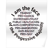 I am the Progressive Majority 01 Poster