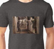 Calle iluminada por faroles, Altea Unisex T-Shirt