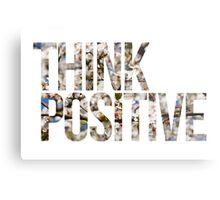 Think positive! II Metal Print