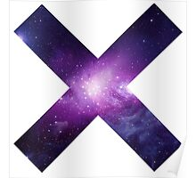 The XX Logo (Galaxy Print) Poster