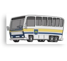 Hamilton Street Railway Bus Canvas Print