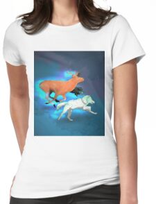 Wormtail, Padfoot, Moony and Prongs Womens Fitted T-Shirt