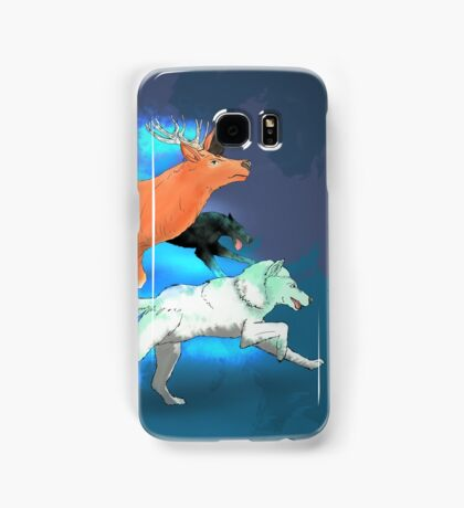 Wormtail, Padfoot, Moony and Prongs Samsung Galaxy Case/Skin