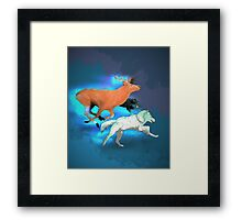 Wormtail, Padfoot, Moony and Prongs Framed Print