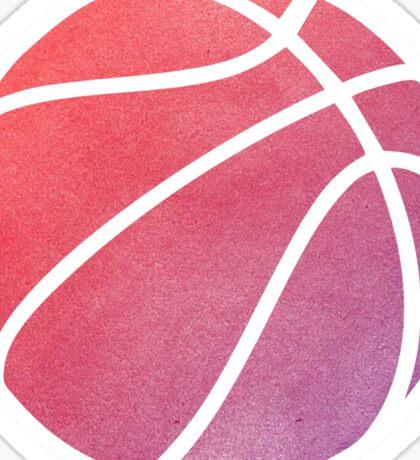 Basketball Multicolored Sticker