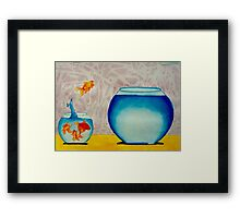 Stay close to your inner self and you will benefit in all ways Framed Print
