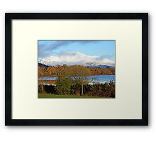 Ben Lomond Loch Lomond Scotland. Framed Print