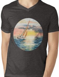 Sailing Yacht Club Mens V-Neck T-Shirt