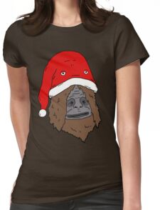 Sassy and the Bucket Hat - Christmas Edition Womens Fitted T-Shirt