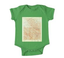 USGS TOPO Map California CA Tesla 298993 1907 62500 geo One Piece - Short Sleeve