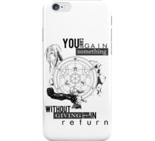 Alchemy's Law iPhone Case/Skin