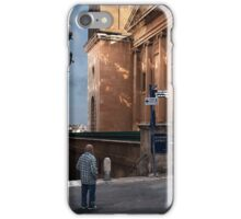 Churchgoer's Watch -- Valletta Malta iPhone Case/Skin