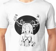 Knitting Deer Girl Unisex T-Shirt