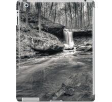 Blue Hen Falls - B&W HDR iPad Case/Skin
