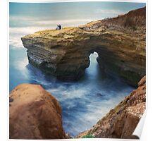 Sunset Cliffs, San Diego, CA. Poster