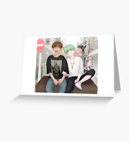 Sope On The Street Greeting Card