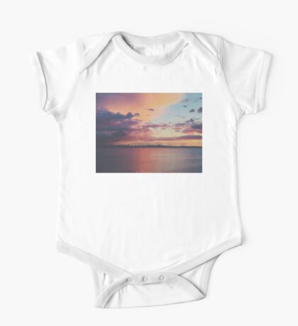 San Francisco at Sunset One Piece - Short Sleeve