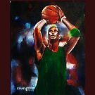 Basketball player by paintingsbycr10