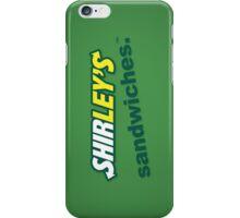 Shirley's Sandwiches iPhone Case/Skin